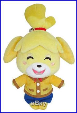REAL Little Buddy 1309 Animal Crossing 8 Smiling Isabelle Stuffed Plush Doll