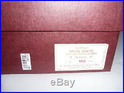 R. John Wright 1989 16 Inch Disney Snow White Princess 1622/2500