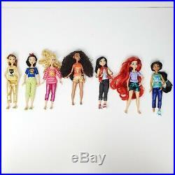 Ralph Breaks The Internet Mini Disney Store Princesses Lot of 7 6 Dolls 2018