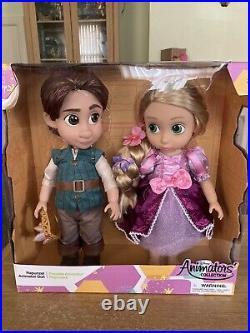 Rapunzel And Flynn Animator Doll