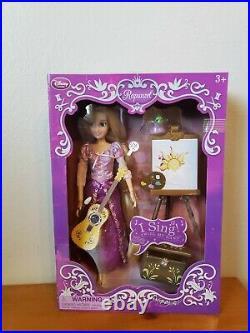 Rapunzel Deluxe Singing Doll Tangled Disney Store
