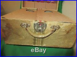Rare 1937 KNICKERBOCKER SNOW WHITE & THE SEVEN DWARFS in Original Carrying Box