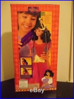 Rare 1996 Disney Magic Braids Esmeralda Doll New Mib Hunchback Of Notre Dame Nib
