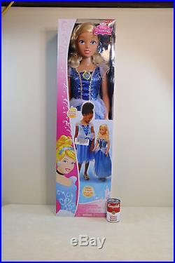 Rare Disney Princess Cinderella Doll 3' Tall My Size Lifesize New Original Box