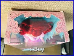 Rare Disney pink dress Ariel THE LITTLE MERMAID 17 singing Doll