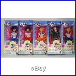 Rare Sailor Moon 6 Dolls 5 Piece Set By Irwin Toys