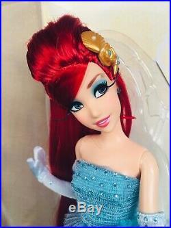 Read Disney Princess Ariel the little mermaid limited edition designer LE doll