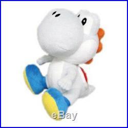 Real Little Buddy 1393 Nintendo Super Mario Series 6 White Yoshi Plush Doll