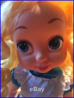 Really Rare Disney Store Alice Animator Doll