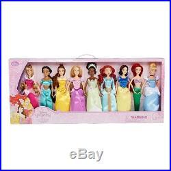 SALE! DISNEY PRINCESS DOLL SET COLLECTION 9 Piece 12 Inch Dolls Age 3+ NWT