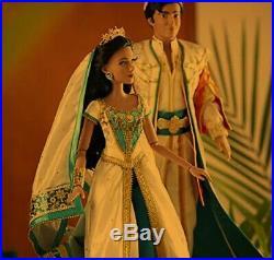 SEALED Disney Princess Jasmine & Aladdin Limited Edition Doll Set RARE