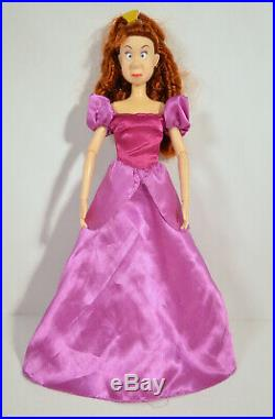SUPER RARE Cinderella Stepsister Anastasia 12 Action Figure Doll Disney Store