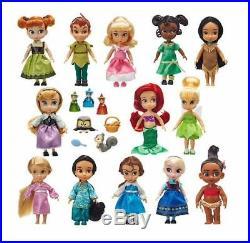 Set de 13 Mini Poupées Animators Disney Princesses