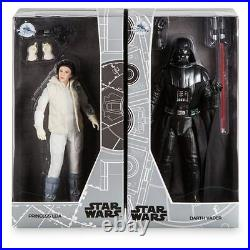 Star Wars Princess Leia and Darth Vader Limited Edition Figure Doll D23 Expo