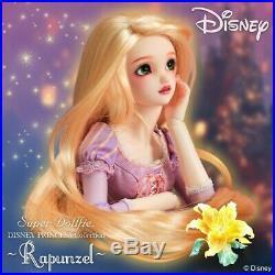 Super Dollfie DISNEY PRINCESS Collection Rapunzel VOLKS Doll Super Dollfie
