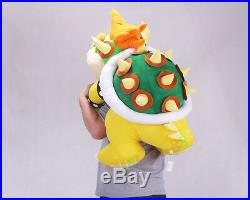 Super Mario Bros. Bowser Soft Plush Doll Toy 30 Inch Big Giant Plush Handmade