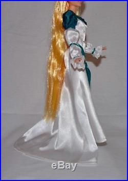 Swan Princess Odette custom barbie doll dress + necklace Disney