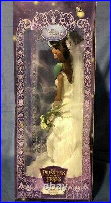 TIANA & NAVEENROYAL WEDDINGDollsPrincess and the FrogDisney StoreNIB2010