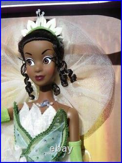 TIANA Princess and the FROG grenouille LE poupée DISNEY édition limitée 5000 ex