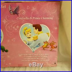 TRU Disney Fairytale Wedding Doll Gift Set Cinderella Belle Rapunzel NEW VHTF