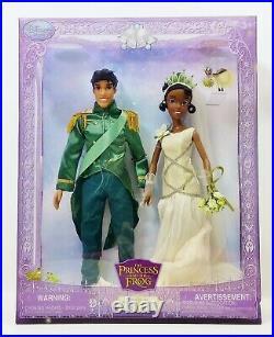 The Princess & the Frog Princess Tiana & Prince Naveen Royal Wedding Doll Set