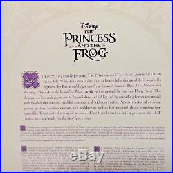 Tiana Limited Edition Doll Disney Princess And The Frog 17 Inch