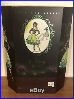 Tiana Princess And Frog Disney Designer Collection Premiere Doll Limited /4000