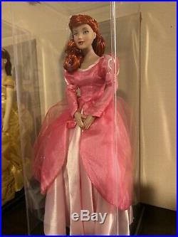 Tonner Ariel The Little Mermaid Pink Dress 15 Disney Princess doll With OG box