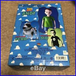 Toy Story ANDY Disney Figure Medicom Toy Vinyl Collectible Doll Sofubi Pixar JPN