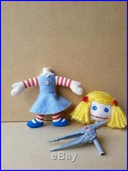 Toy Story Janie Doll Custom Replica Figure Sid Chuckles Wheezy Rocky Pete Bo Rex