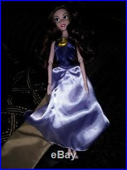 Vanessa Disney Store The Little Mermaid Doll Rare Loose with dress and necklace