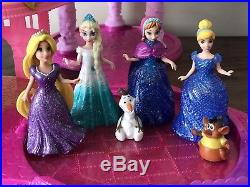 Very Rare Disney Princess Glitter Glider Magiclip Castle Inc Dolls And Pets
