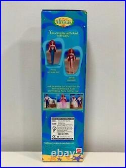 Vintage 1997 Mattel Disney ARIEL Little Mermaid/Swimsuit Princess Doll 17595