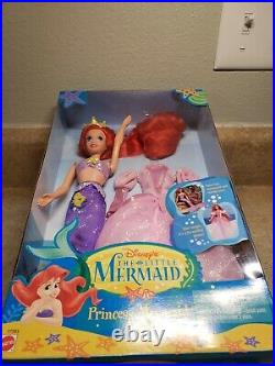 Vintage Mattel 1997 Disney's The Little Mermaid Princess Mermaid Ariel Doll NEW