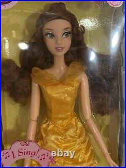 Vtg 1991 Disney Princess Singing Belle 17 Doll